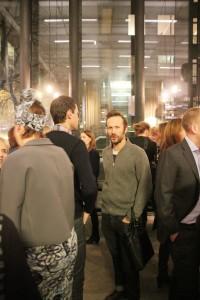 En pigg Robert Mellberg gafflar med Fredrik Cassel