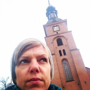 På stora torget i Falun